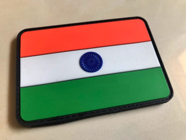 Indian Flag Badge